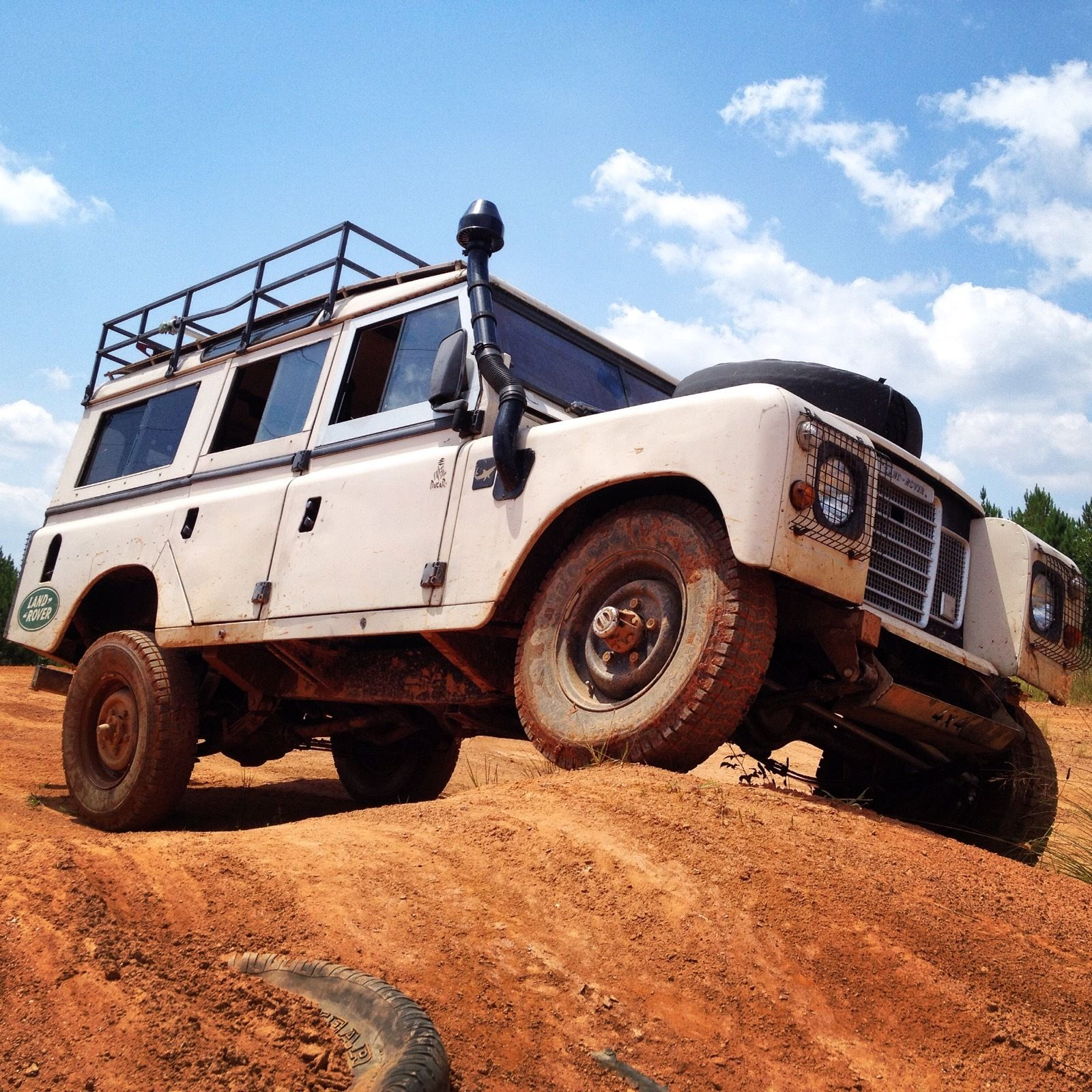 1980 Land Rover LWB Safari Wagon For Sale