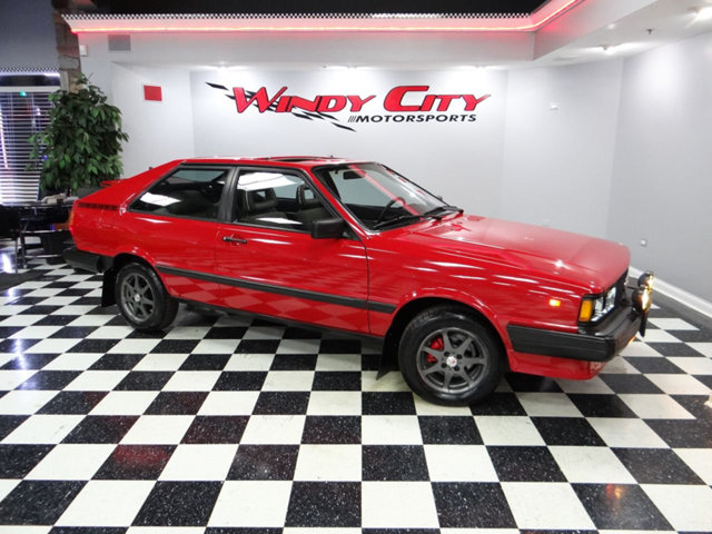 1984 Audi Coupe Gt For Sale
