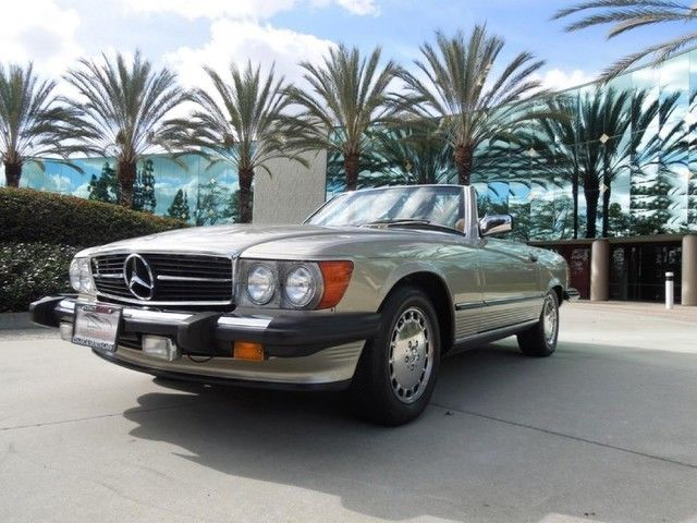 1986 mercedes benz 560sl convertible for sale for Mercedes benz 80s