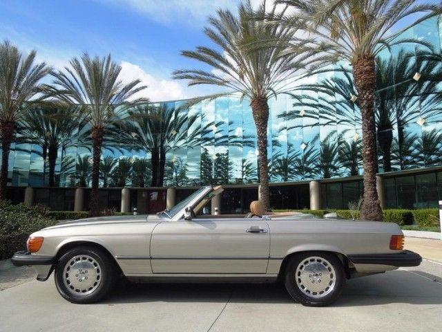 1986 Mercedes Benz 560sl Convertible For Sale