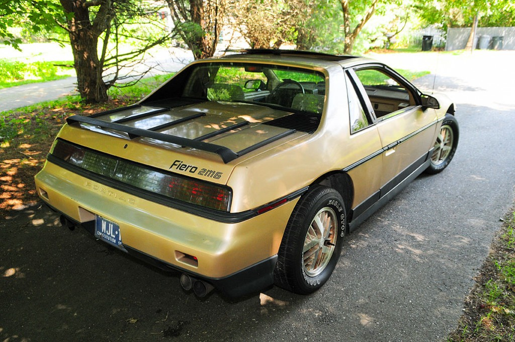 T Top Cars >> 1986 Pontiac Fiero V6 for sale