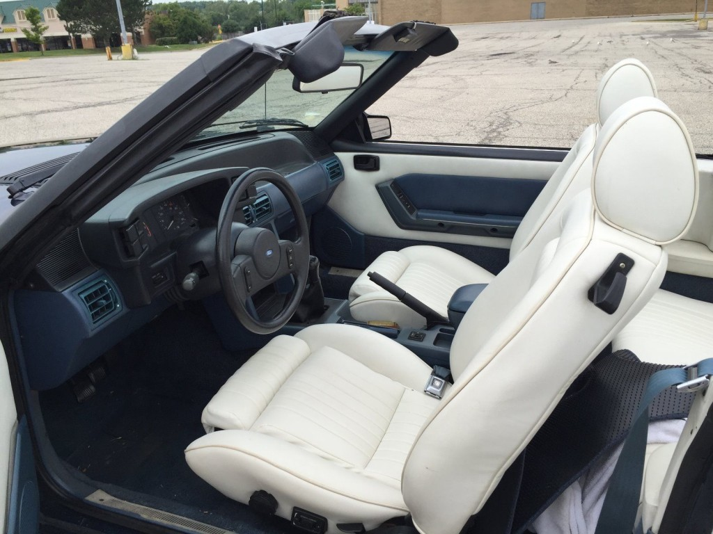 1987 Ford Mustang LX Convertible 5.0