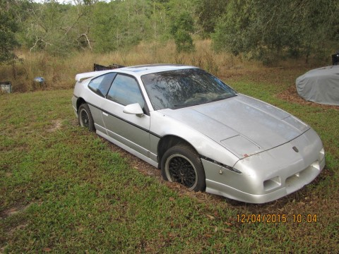 1987 Pontiac Fiero GT V6 for sale