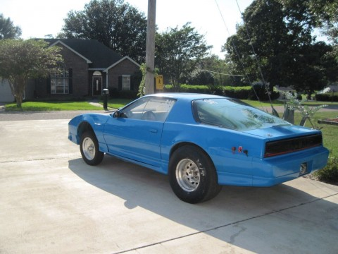 1987 Pontiac Firebird Trans Am Drag Race Car for sale