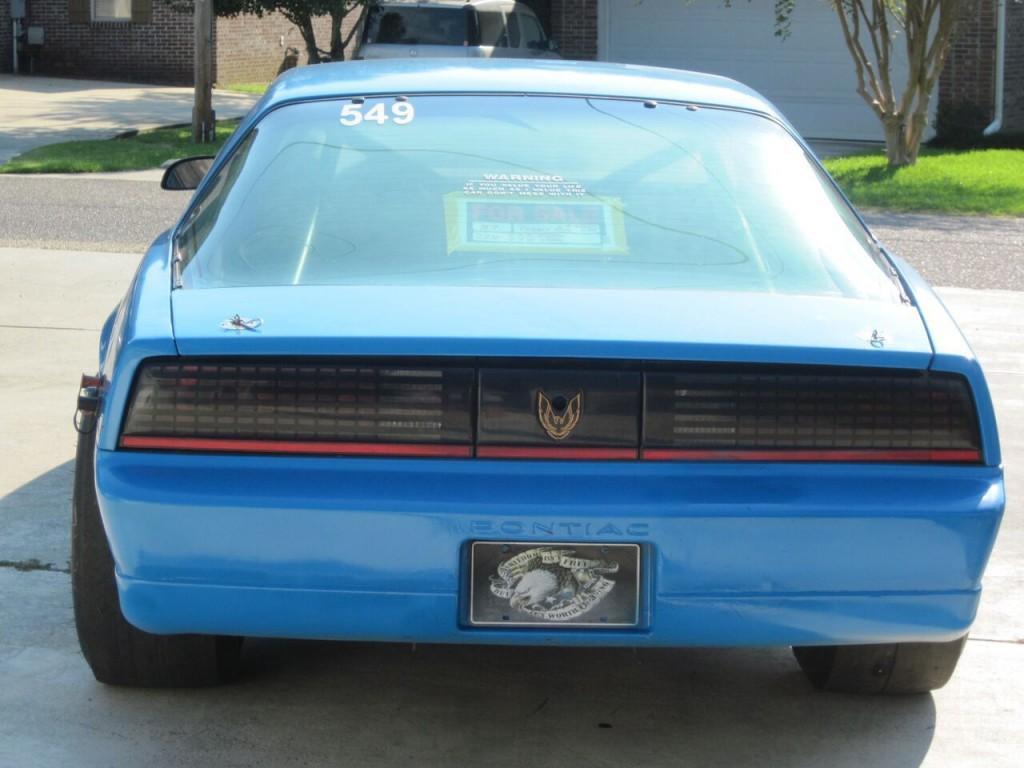 1987 pontiac firebird trans am drag race car for sale. Black Bedroom Furniture Sets. Home Design Ideas