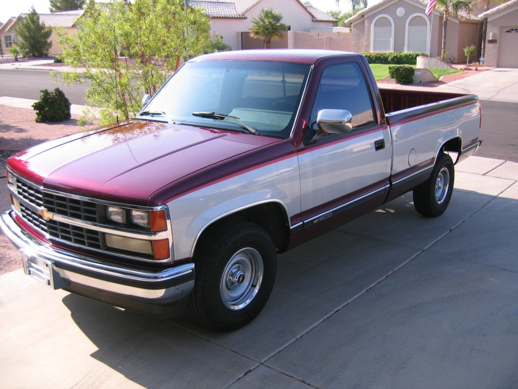 1989 Chevy C1500 regular cab 8 ft bed 2wd