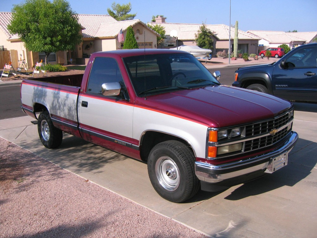 2005 Silverado For Sale >> 1989 Chevy C1500 regular cab 8 ft bed 2wd for sale
