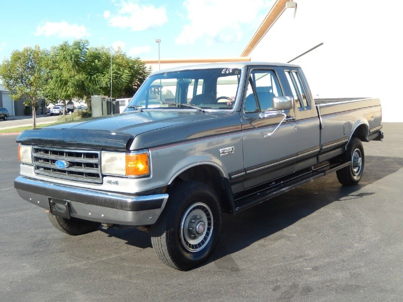 1989 FORD F250 4X4 Extended Cab