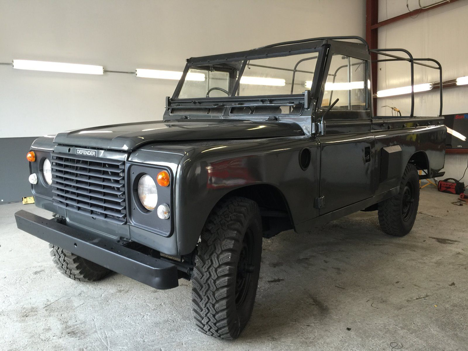 1980 land rover series pre defender military pickup truck for sale. Black Bedroom Furniture Sets. Home Design Ideas