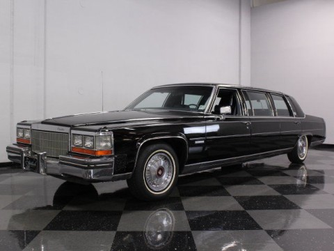 1982 Cadillac Factory Deville Limousine for sale