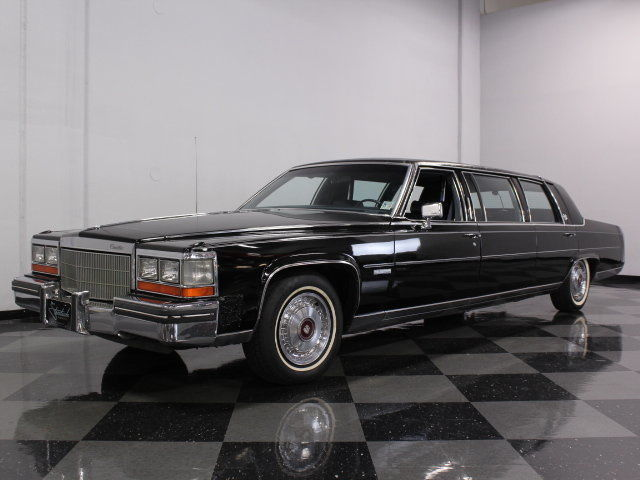 Cadillac Fleetwood For Sale >> 1982 Cadillac Factory Deville Limousine for sale
