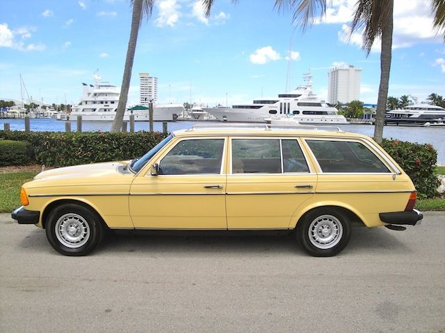 1982 mercedes benz 300tdt turbo diesel wagon for sale