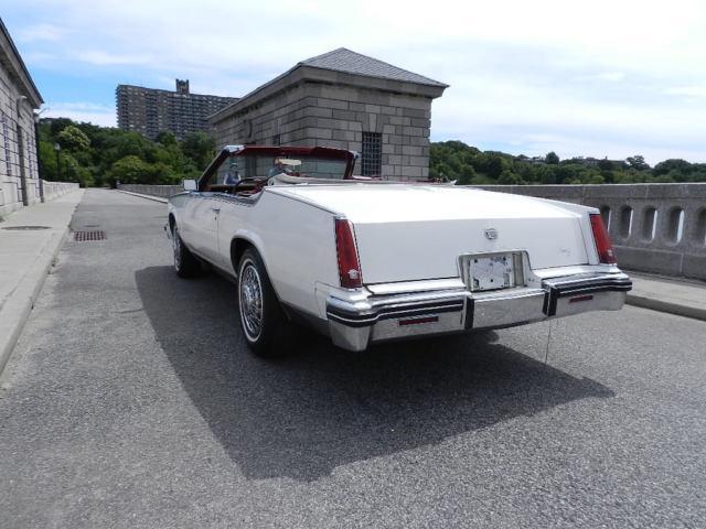 1984 cadillac eldorado convertible for sale