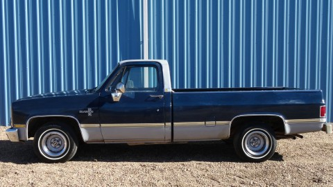 1985 Chevrolet C 10 Silverado Longbed Pickup Truck for sale