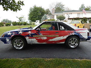 1985 Ford Mustang GT Drag and Race car