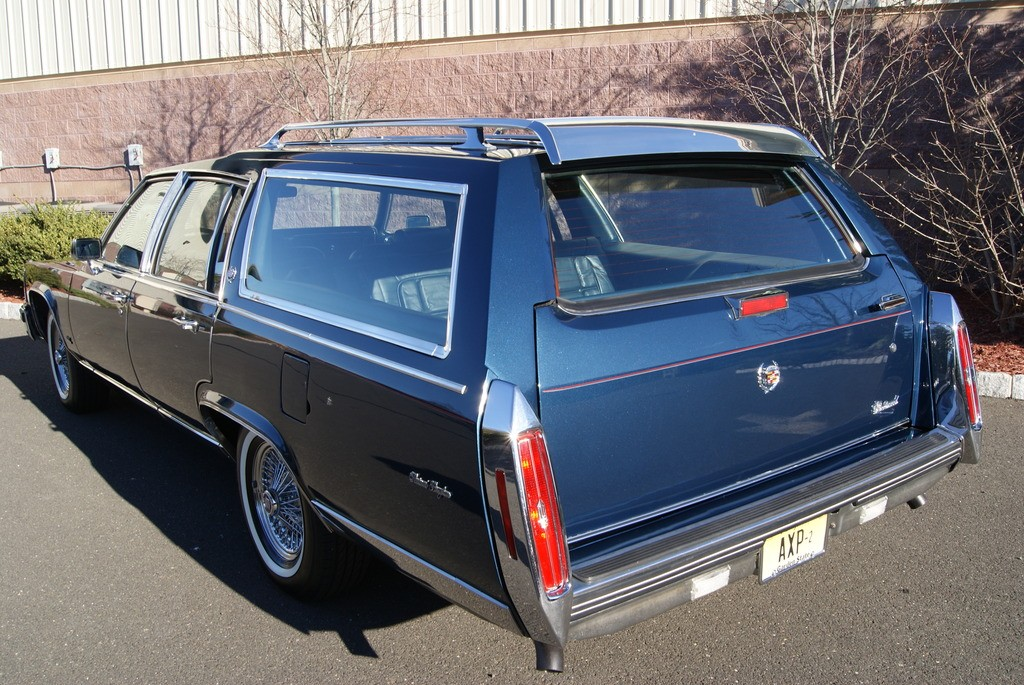 1986 Cadillac Fleetwood Custom Station Wagon for sale