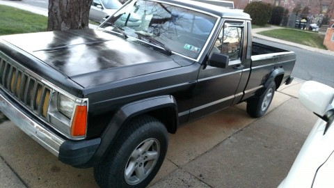 1986 Jeep Comanche 2.5 4×4 5 Speed for sale