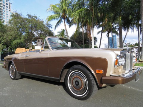 1986 Rolls Royce Corniche for sale