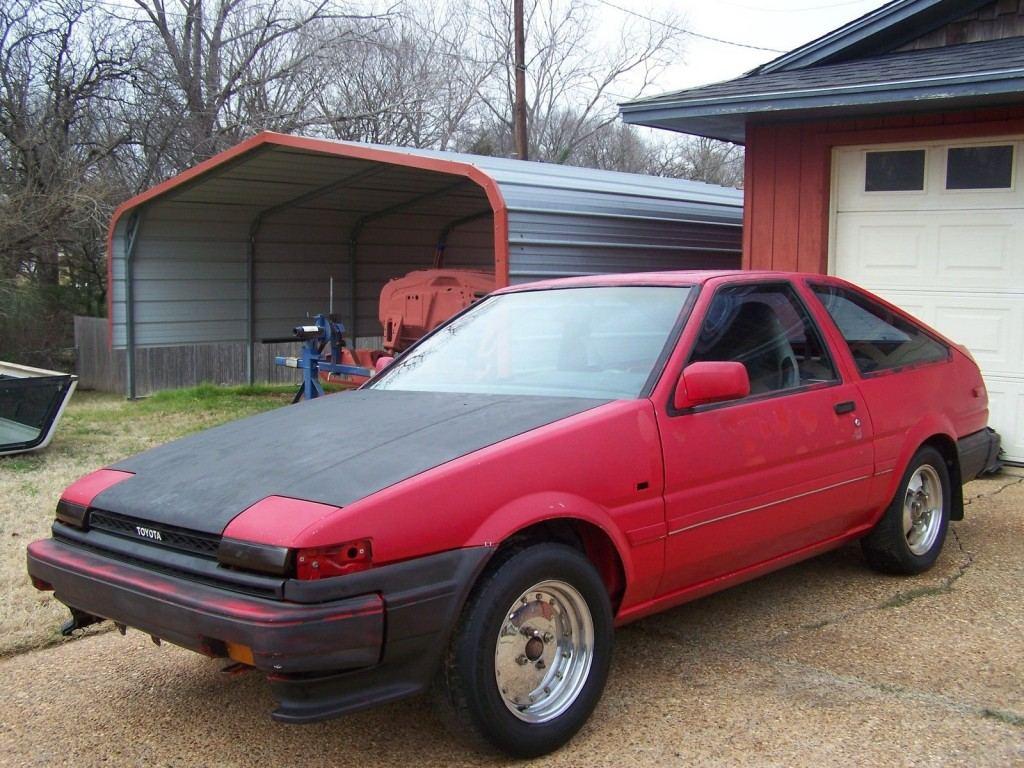 1986 Toyota Corolla Ae 86   Gts For Sale