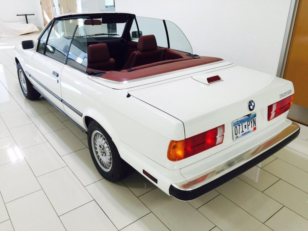 1987 BMW 325i Base Convertible