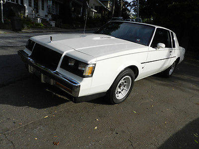 1987 Buick Regal Coupe T Type Turbo for sale