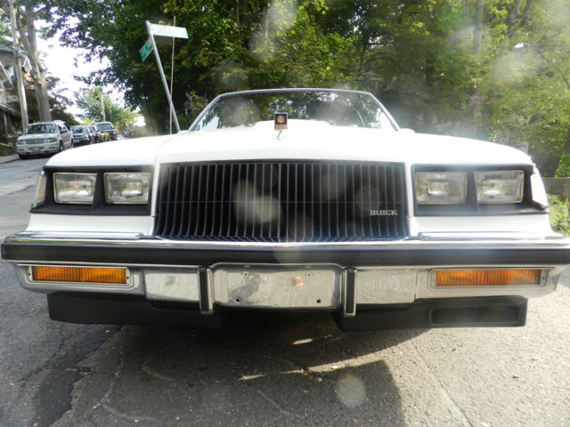 1987 Buick Regal Coupe T Type Turbo
