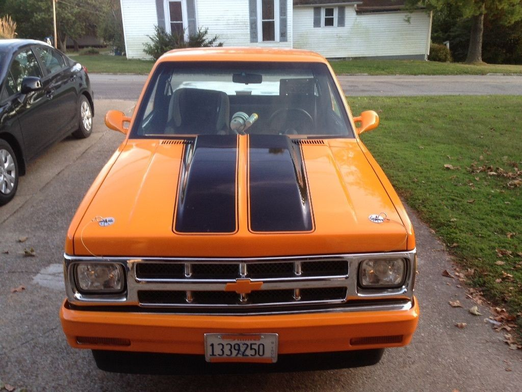 1987 Chevrolet S 10 Short bed Pro Street