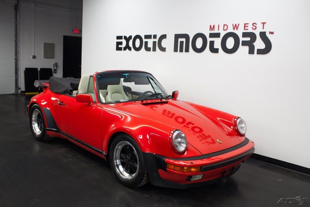 1987 Porsche 911 930 Turbo Cabriolet For Sale
