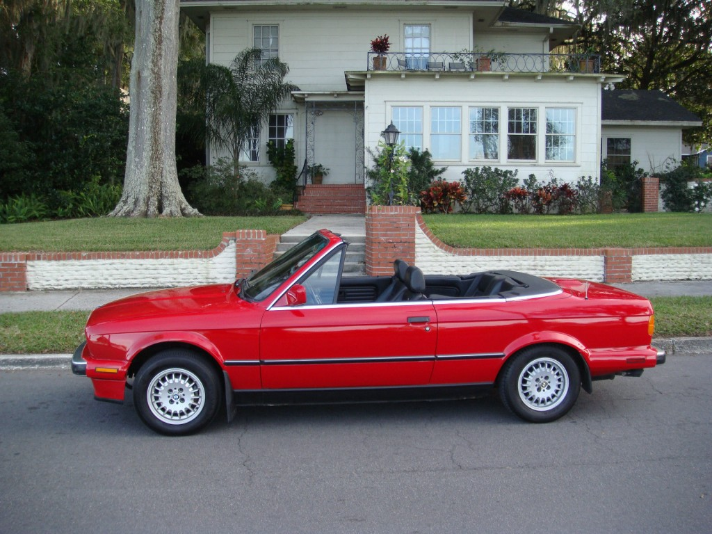 1989 Bmw 325i Base Convertible For Sale