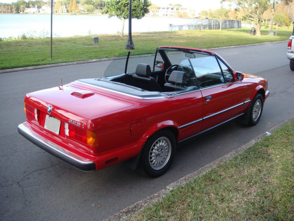 1989 bmw 325i base convertible for sale. Black Bedroom Furniture Sets. Home Design Ideas