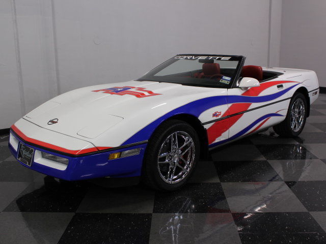 1989 Chevrolet Corvette Pace Car Inspired