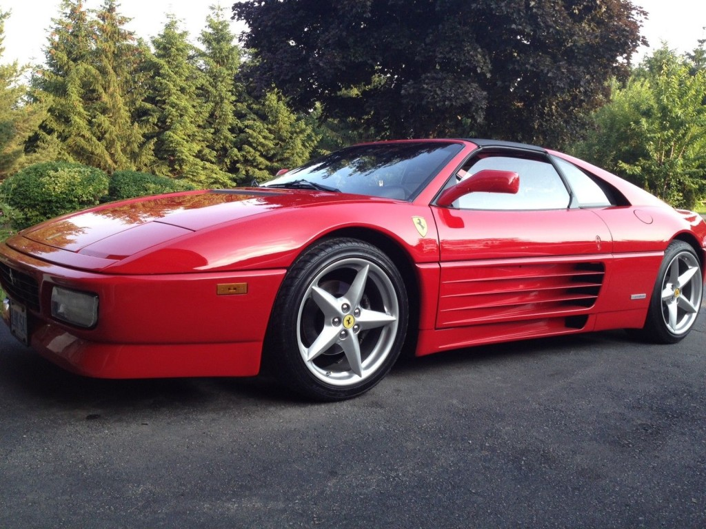 1989 Ferrari 348 Ts Beautiful Rosso Corsa For Sale