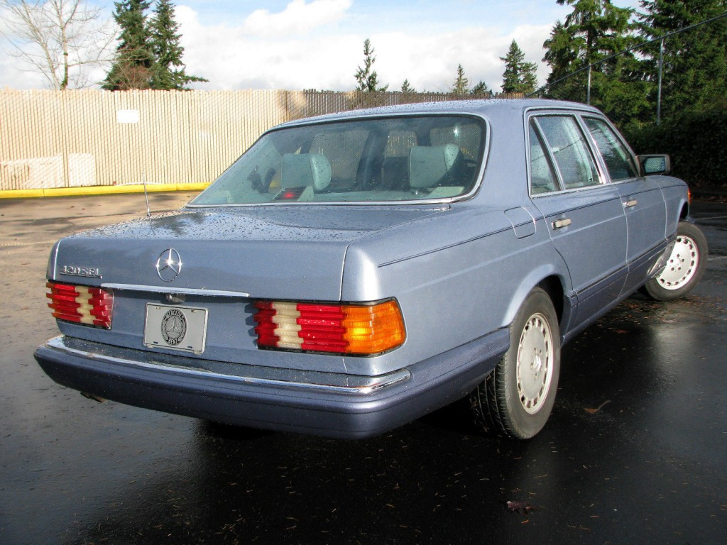 1989 mercedes benz 420sel for sale for Mercedes benz s 420