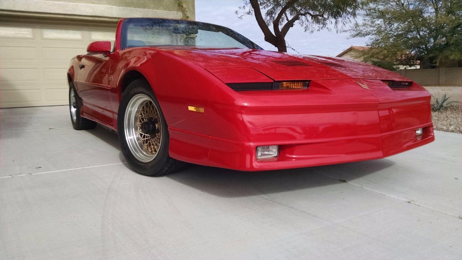 Pontiac Firebird Trans Am Convertible For Sale In Houston: 1989 Pontiac Trans Am GTA Convertible For Sale