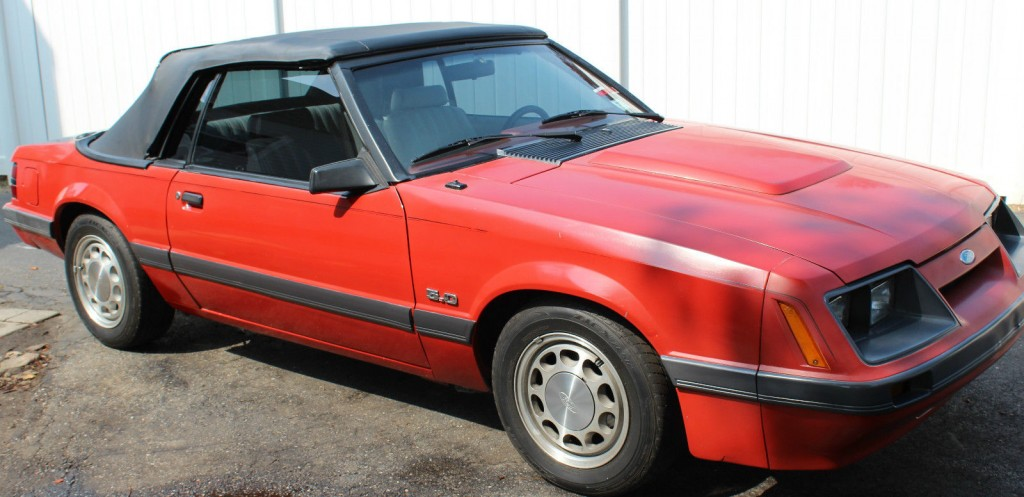 1984 ford mustang lx convertible for sale. Black Bedroom Furniture Sets. Home Design Ideas