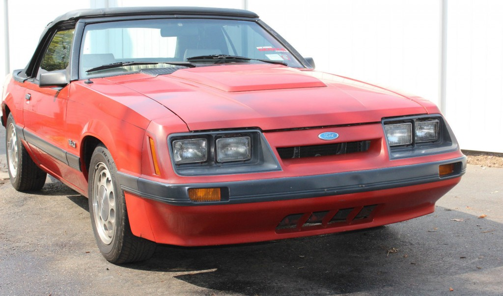 1984 Ford Mustang Lx Convertible For Sale