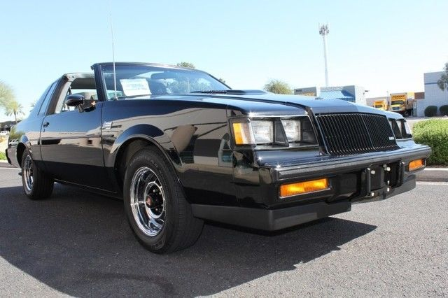 2016 Buick Grand National >> 1987 Buick Grand National T-top for sale