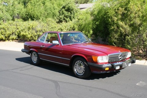 1988 Mercedes-Benz 560 Convertible for sale