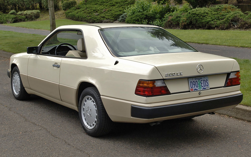 1989 mercedes benz 300ce w124 for sale for Mercedes benz 80s