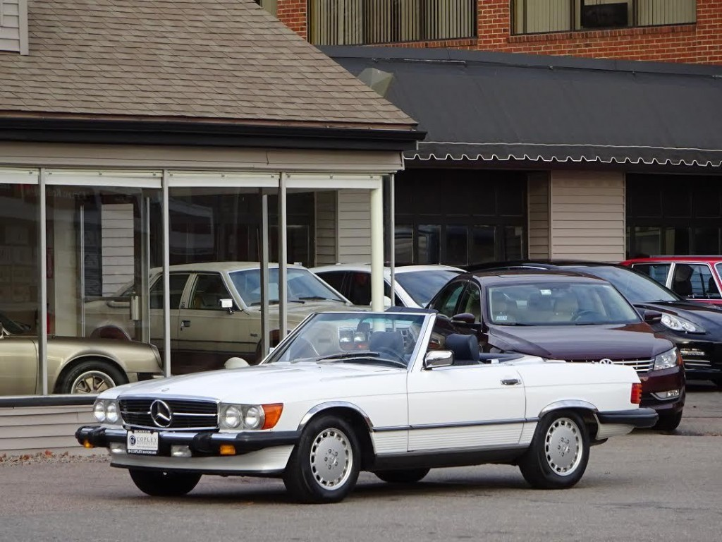 1989 mercedes benz 560sl roadster for sale for Mercedes benz 80s