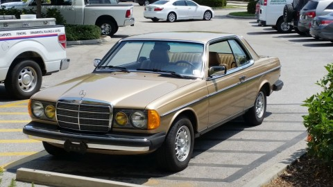 1983 Mercedes Benz 300CD Coupe for sale