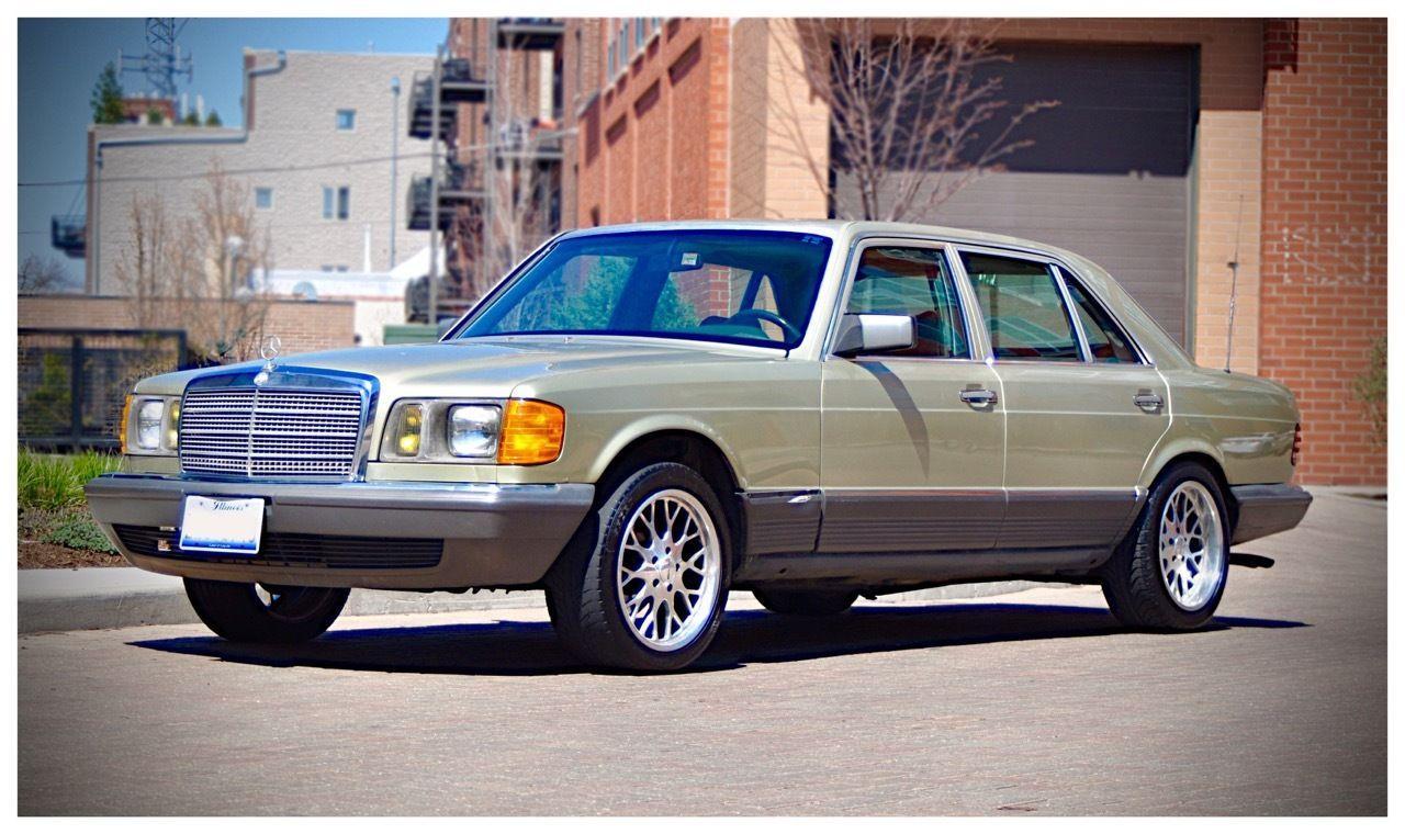 1984 mercedes benz 500sel sedan 5 0l for sale for Mercedes benz 80s