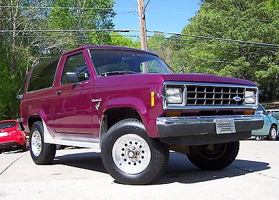 1986 Ford Bronco II 4×4 for sale