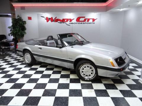 1986 Ford Mustang GT 5.0 Convertible for sale