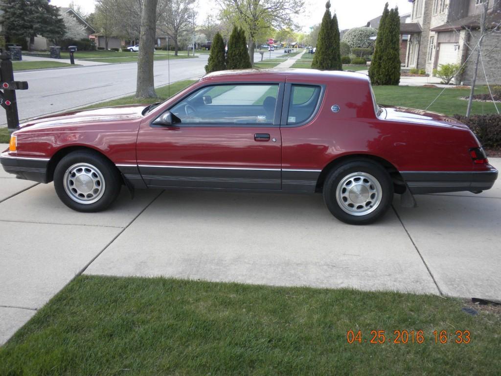 1980 Corvette For Sale >> 1986 Mercury Cougar XR 7 for sale