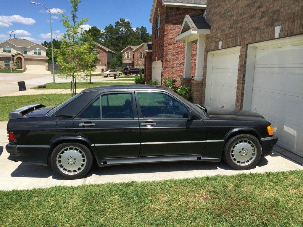 1987 mercedes benz 190e 2 3 16v sedan 2 3l cosworth w201 for Mercedes benz 190e cosworth for sale