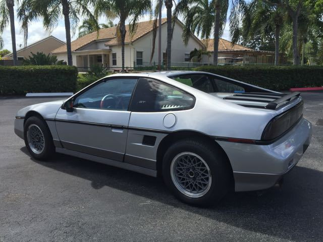 1989 Pontiac Trans Am Turbo For Sale >> 1987 Pontiac Fiero GT V6 for sale