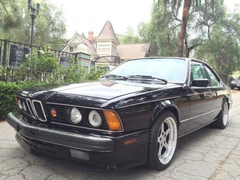 1988 BMW 635CSi Base Coupe for sale