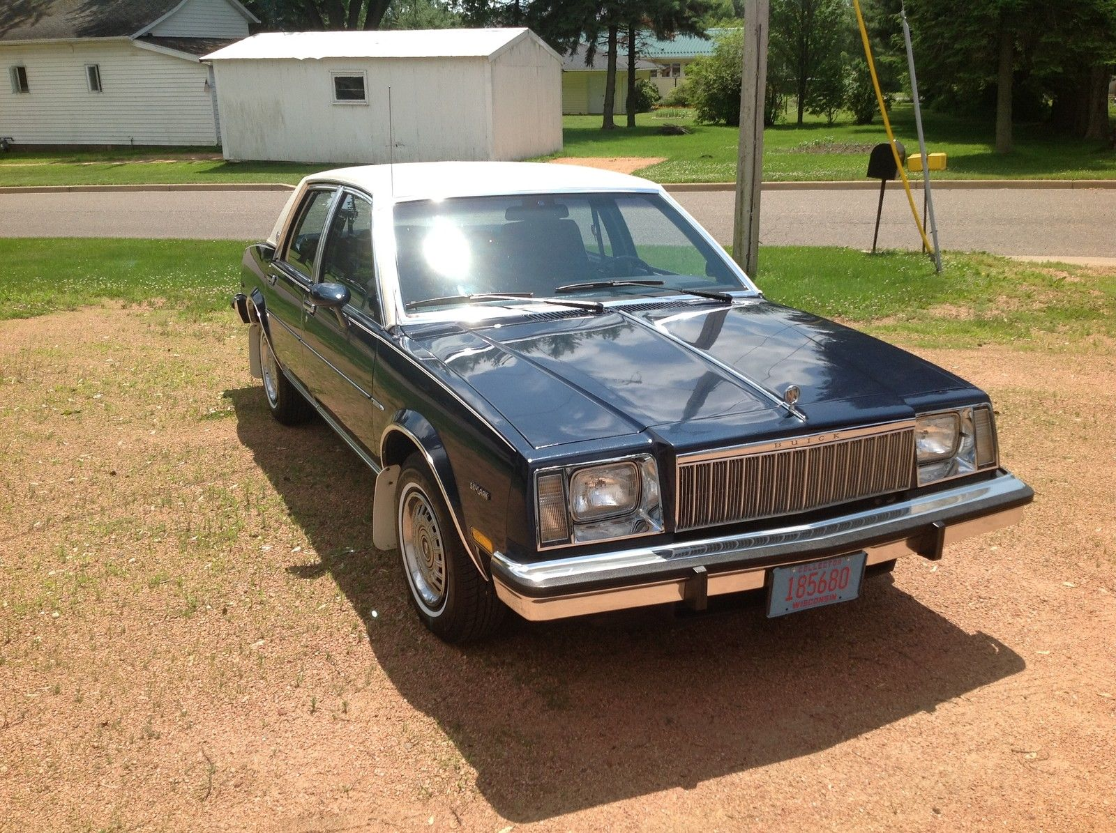 Buick Skylark Limited Sedan For Sale on 1986 Buick Lesabre T Type