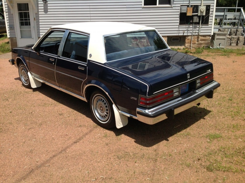 Buick Skylark Limited Sedan For Sale X on 1984 Buick Lesabre Limited